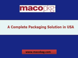Most demanded packaging portal in USA