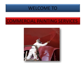 Benefits Of Hiring A Commercial Painting Contractor