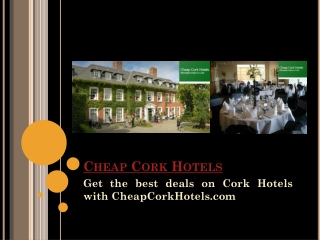 Cheap Hotels In Cork