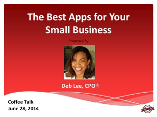 Best Apps for Your Small Business