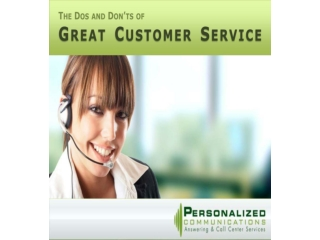 The Dos and Dont's of Great Customer Service