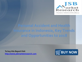 JSB Market Research: Personal Accident and Health Insurance