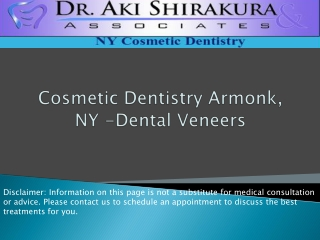 Cosmetic Dentistry Armonk, NY -Dental Veneers