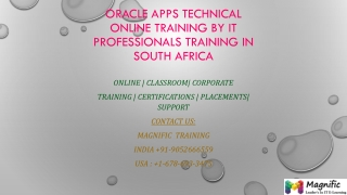 Oracle Apps Technical Online Training by iT professionals tr