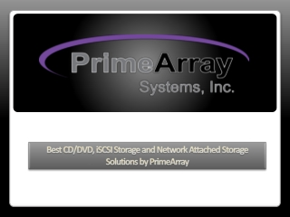 Best CD/DVD, iSCSI Storage and Network Attached Storage Sol