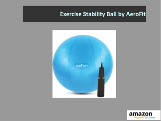 Exercise Stability Ball by AeroFit