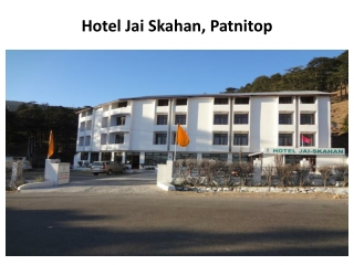 hotel, hotels, Jai, patnitop, accommodation, reservation, on