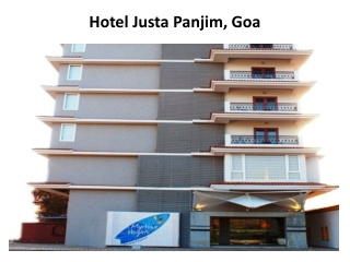 Book Justa Panjim in Goa