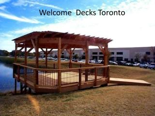Deck Toronto