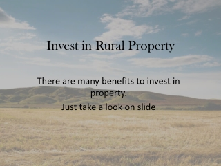Jeff Akstin Benefits of Investing in Land