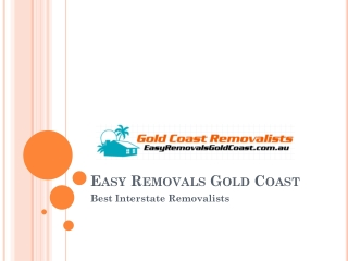 Best Leading Interstate removalist in Gold Coast