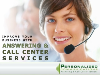 Improve Your Business with Answering