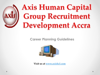 Axis Human Capital Group Recruitment Development Accra