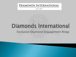 Exclusive Diamond Engagement Rings
