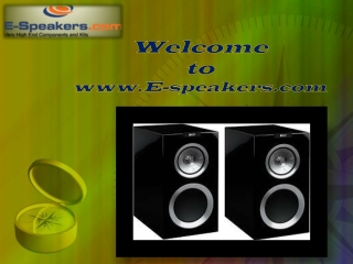 Home Theater Loudspeakers
