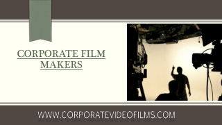 Foremost Video Production Companies