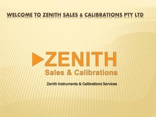 Zenith- A complete instrumentation solution