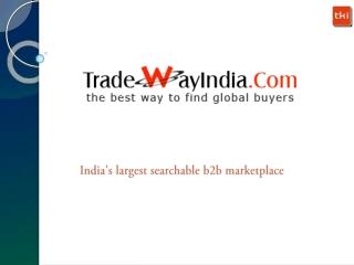 Tradewayindia offical introduction