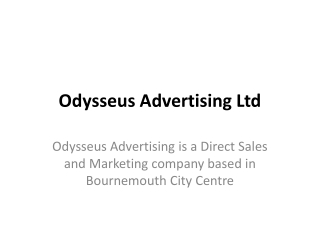 Odysseus Advertising -Bournemouth