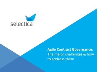 Tackle Contract Management Challenges with Selectica Contrac