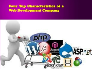 Four Top Characteristics of a Web Development Company