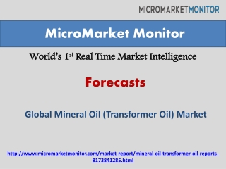 Global Mineral Oil (Transformer Oil) Market Research Report