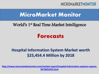 Hospital Information System Market by 2018