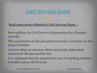 Very helpful knowledge for civil services exam