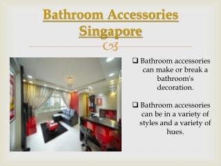 Toilet Accessories Singapore.