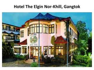 hotel, hotels, Elgin, Nor-Khil, Hotel, Gangtok, accommodatio