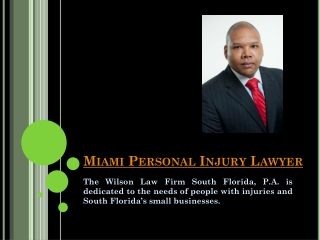 Personal Injury Lawyer Fort Lauderdale