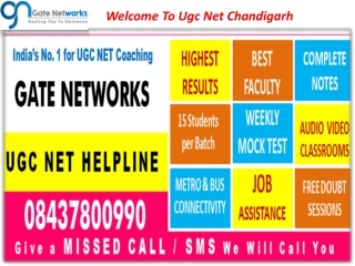 Welome to Ugc Net Chandigarh