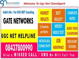 Welome to Ugc Net Chandigarh