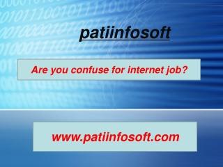 online job in india