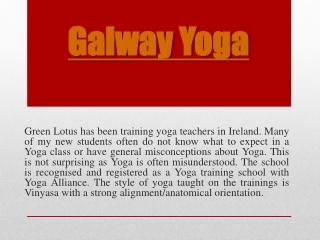 Galway Yoga