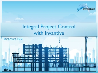Integral Project Control with Invantive