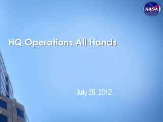 HQ Operations All Hands
