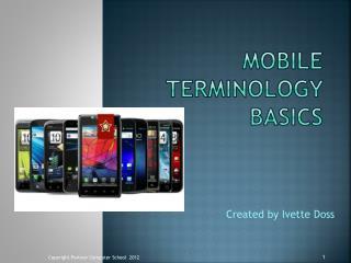 Mobile Terminology Basics