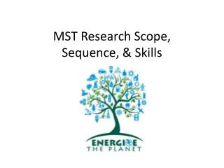 MST Research Scope,  Sequence, & Skills