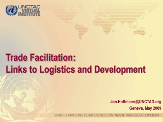 ict role in trade facilitation
