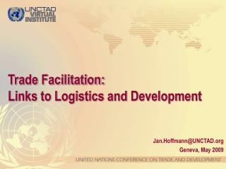 ict role in trade facilitation