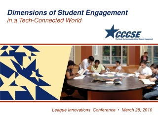 League Innovations  Conference  •  March 28, 2010