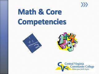Math & Core Competencies