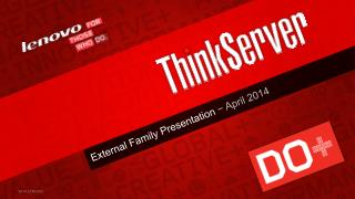 External Family Presentation  ? April 2014