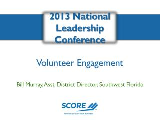 2013 National Leadership Conference