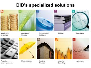 DID's specialized solutions