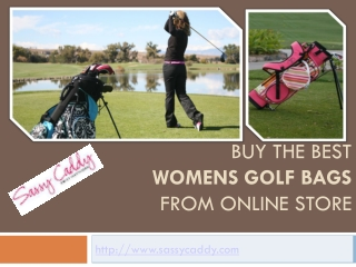 Buy the best womens golf bags from online store: