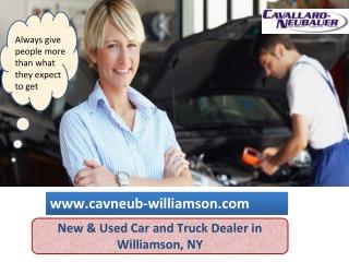 An Used Car Dealer  - Cavallaro Neubauer Williamson