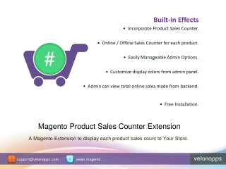 Product Sales Counter|Sold Count Magento Extension-Velanapps