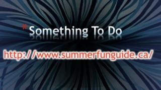 Something To Do